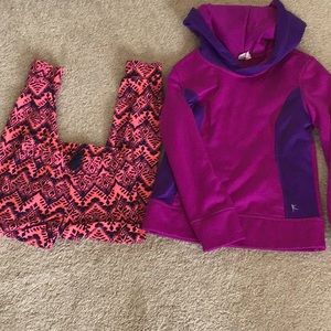 6/6X lounge kids clothes- joggers and sweatshirt
